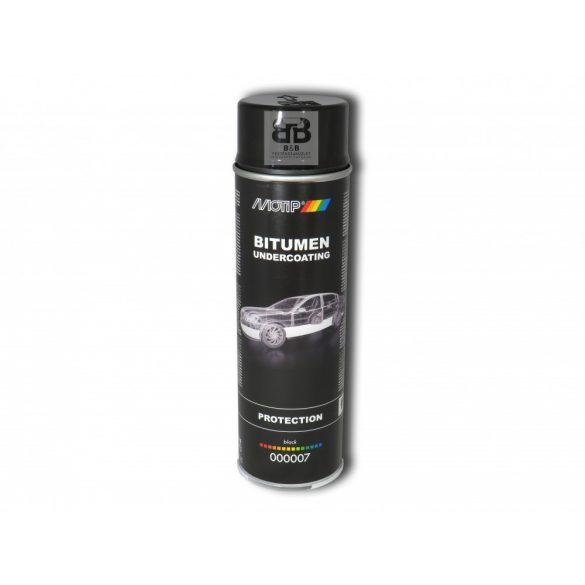 MOTIP Alvázvédő bitumenes fekete aeroszol 500ml