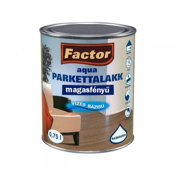 FACTOR Aqua Parkettalakk Magasfényű 0,75L