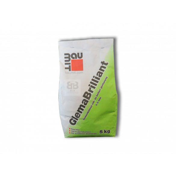 Baumit Glema Brillant Légáteresztó Kül és Beltéri Glettanyag Fehér (0-3 mm) 5kg