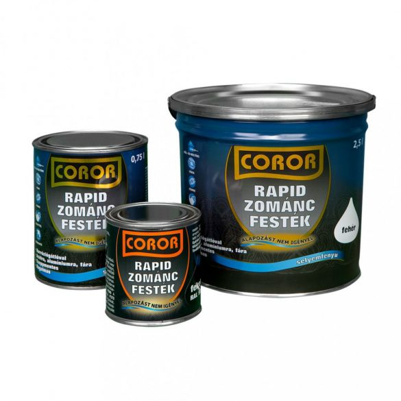 COROR Rapid zománc Piros 0,75L