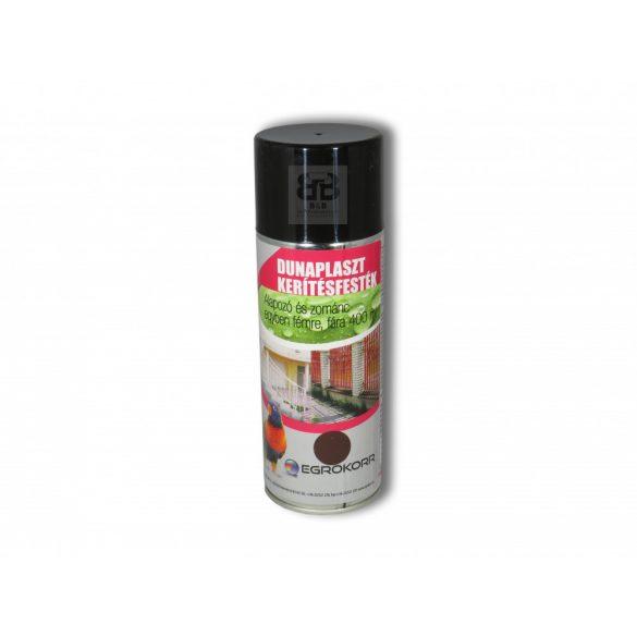 Dunaplaszt Kerítésfesték Spray barna 500 400ml
