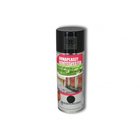 Dunaplaszt Kerítésfesték Spray fekete 300 400ml