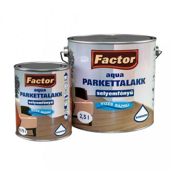 FACTOR Aqua Parkettalakk Selyemfényű 0,25L