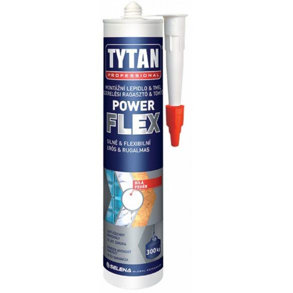 TYTAN Professional Power Flex Színtelen Szerelési Ragasztó 290ml
