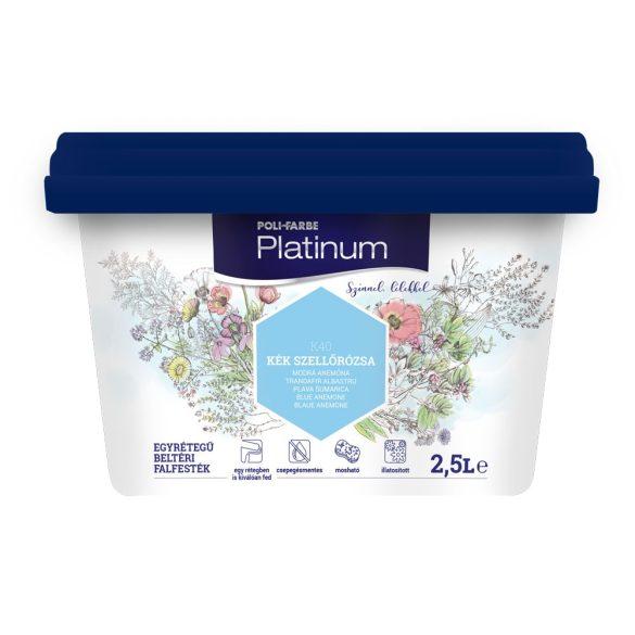 Poli-Farbe Platinum Kék Szellőrózsa 2,5L