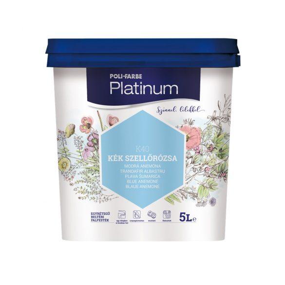 Poli-Farbe Platinum Kék Szellőrózsa 5L