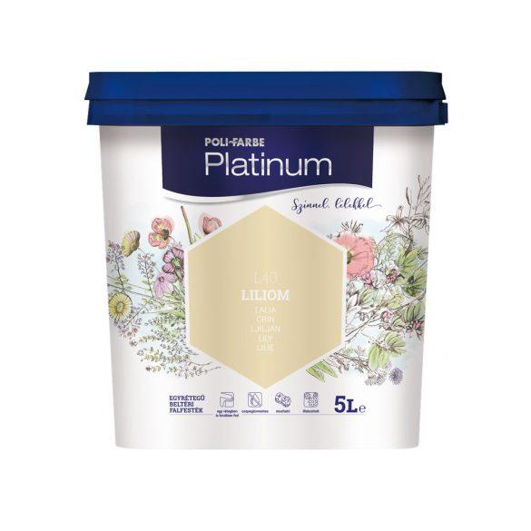 Poli-Farbe Platinum Liliom 5L