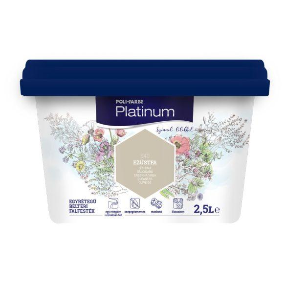 Poli-Farbe Platinum Ezüstfa 2,5L