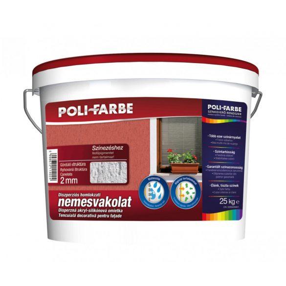Poli-Farbe Vakolat 2 mm Fehér Gördülő 25kg