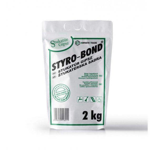 Styro-Bond (Horváth) Stukatúr Gipsz 2kg