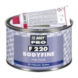 F 220 BODY FINE 2K finom szemcséjű poliészter spatula kitt 1kg