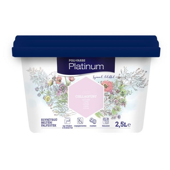 Poli-Farbe Platinum Csillagfürt 2,5L