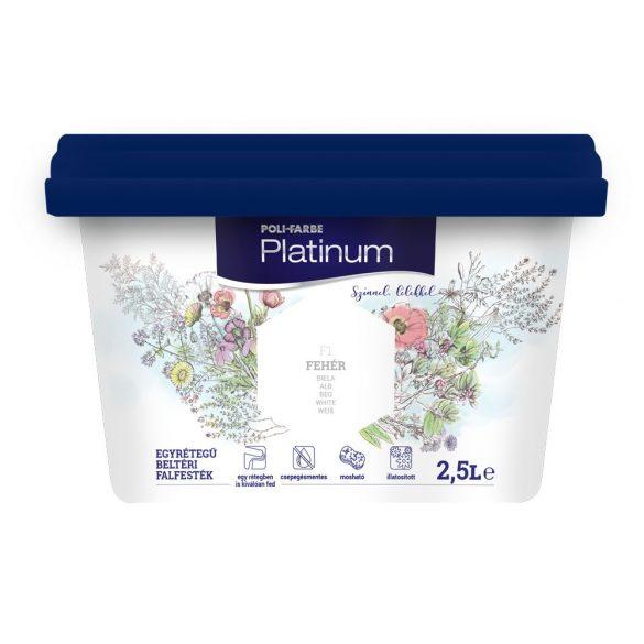 Poli-Farbe Platinum Fehér 2,5L