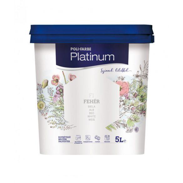 Poli-Farbe Platinum Fehér 5L