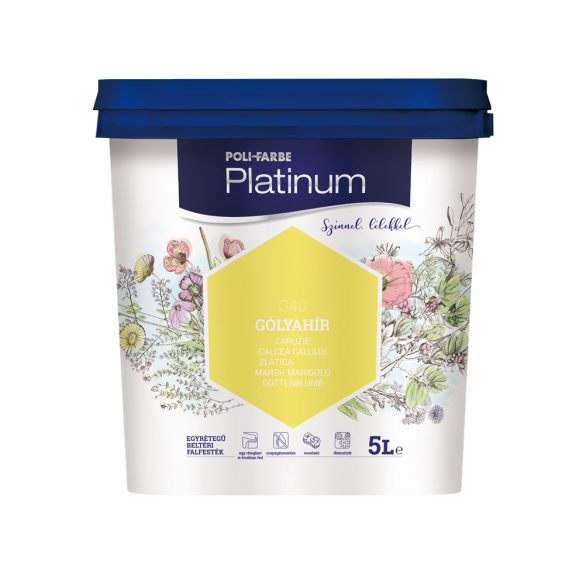 Poli-Farbe Platinum Gólyahír 5L