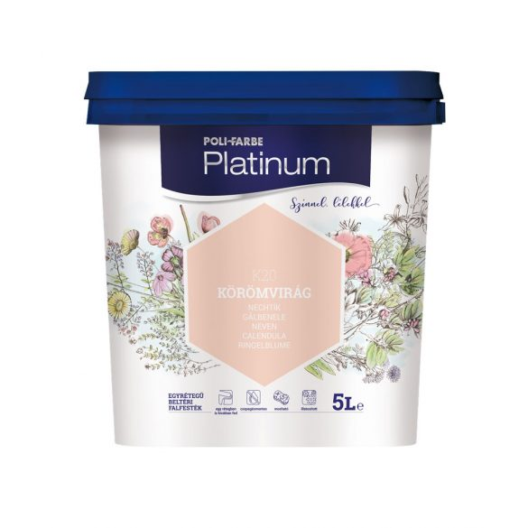 Poli-Farbe Platinum Körömvirág 5L