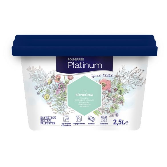 Poli-Farbe Platinum Kövirózsa 2,5L
