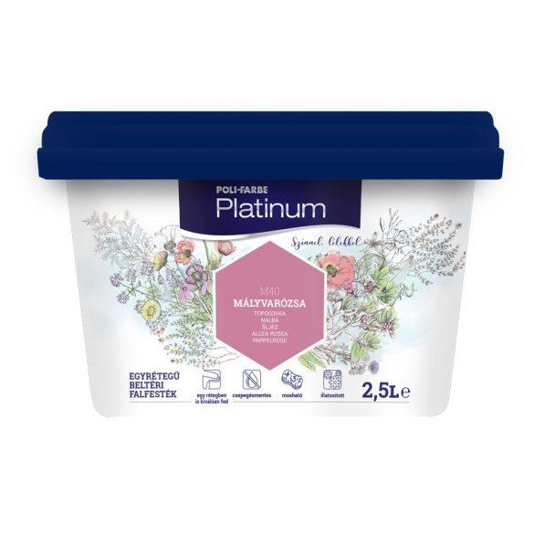 Poli-Farbe Platinum Mályvarózsa 2,5L