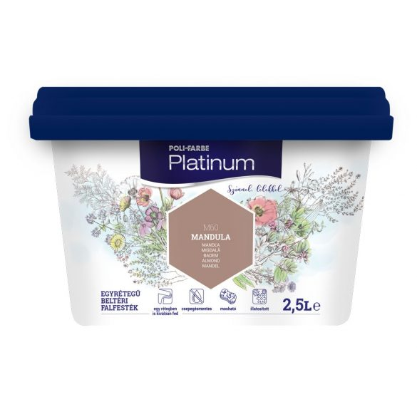 Poli-Farbe Platinum Mandula 2,5L