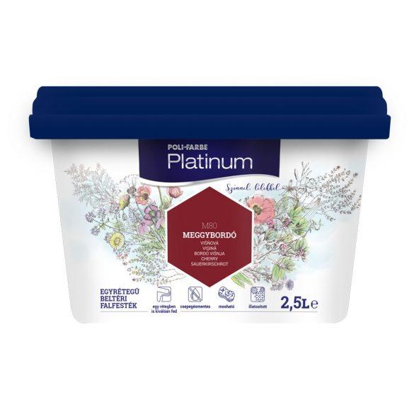Poli-Farbe Platinum Meggybordó 2,5L