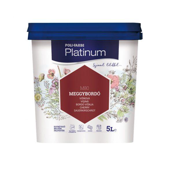 Poli-Farbe Platinum Meggybordó 5L