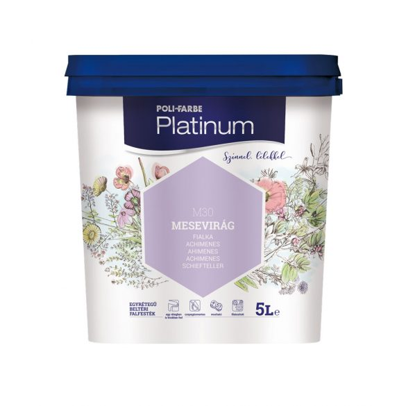 Poli-Farbe Platinum Mesevirág 5L