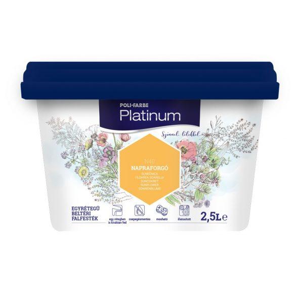 Poli-Farbe Platinum Napraforgó 2,5L