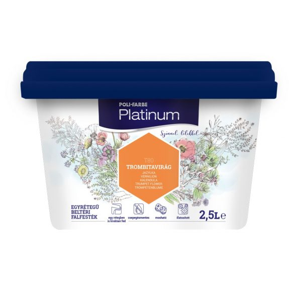 Poli-Farbe Platinum Trombitavirág 2,5L