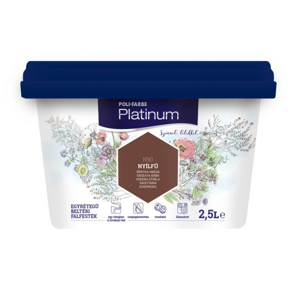 Poli-Farbe Platinum Nyílfű 2,5L