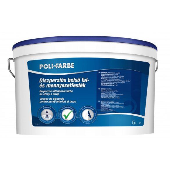 Poli-Farbe Diszperziós Fal- és Mennyezetfesték 5L