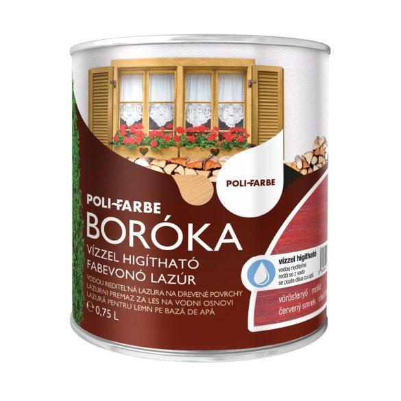 Poli-Farbe Boróka Lazúr Vörösfenyő 0,75L