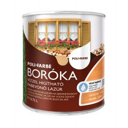 Poli-Farbe Boróka Lazúr Cseresznye 0,75L