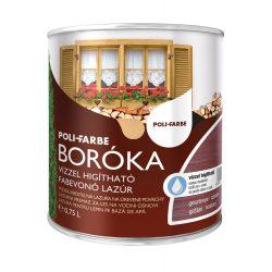 Poli-Farbe Boróka Lazúr Gesztenye 0,75L