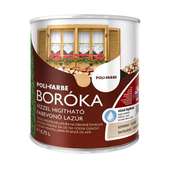 Poli-Farbe Boróka Lazúr Színtelen 0,75L