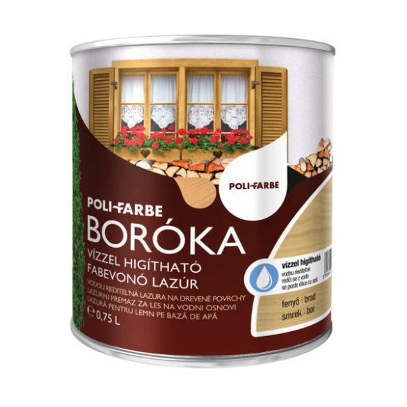 Poli-Farbe Boróka Lazúr Fenyő 0,75L