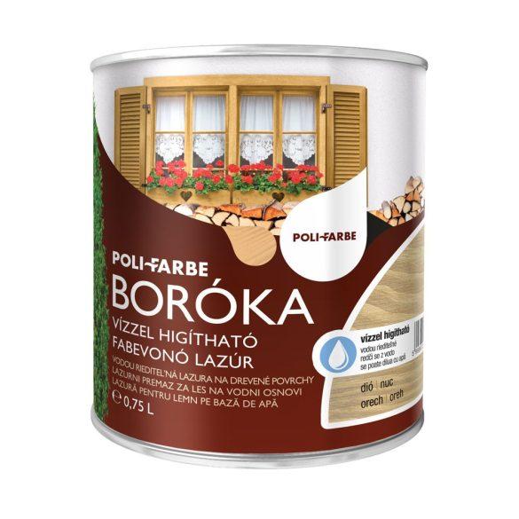 Poli-Farbe Boróka Lazúr Dió 0,75L