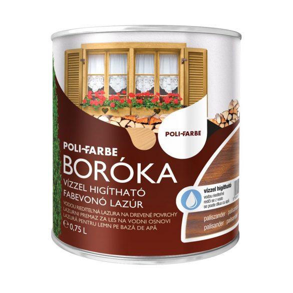 Poli-Farbe Boróka Lazúr Paliszander 0,75L