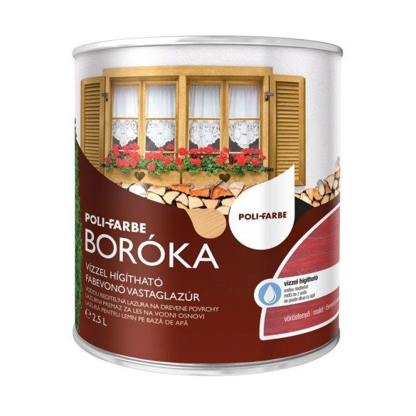 Poli-Farbe Boróka Lazúr Vörösfenyő 2,5L