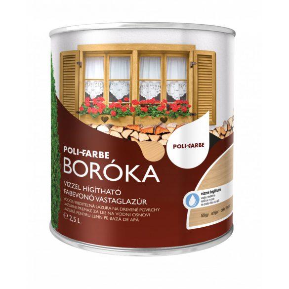 Poli-Farbe Boróka Lazúr Tölgy 2,5L