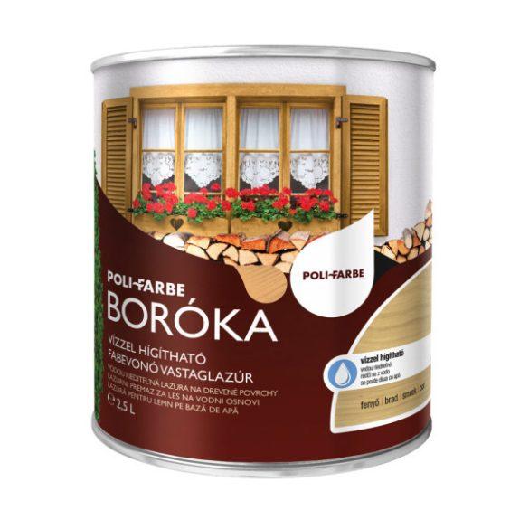 Poli-Farbe Boróka Lazúr Fenyő 2,5L