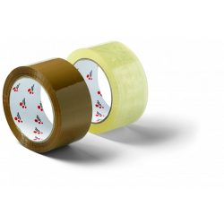 Schuller Box Tape 48mmx66m brown, PP csomagolószalag, zajtalan, barna