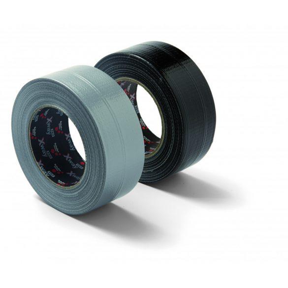 Schuller X-Way Pro 48mmx50m black, ragasztószalag, szövetbetétes, fekete