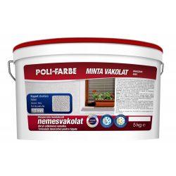 Poli-Farbe Vakolat 1,5 mm Fehér Kapart 5kg