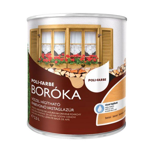 Poli-Farbe Boróka Lazúr Borovi 2,5L