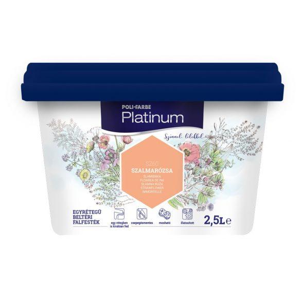 Poli-Farbe Platinum Szalmarózsa 2,5L