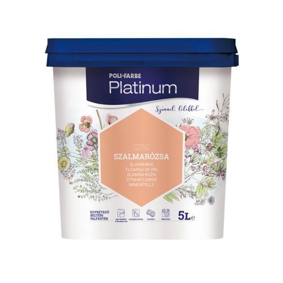 Poli-Farbe Platinum Szalmarózsa 5L