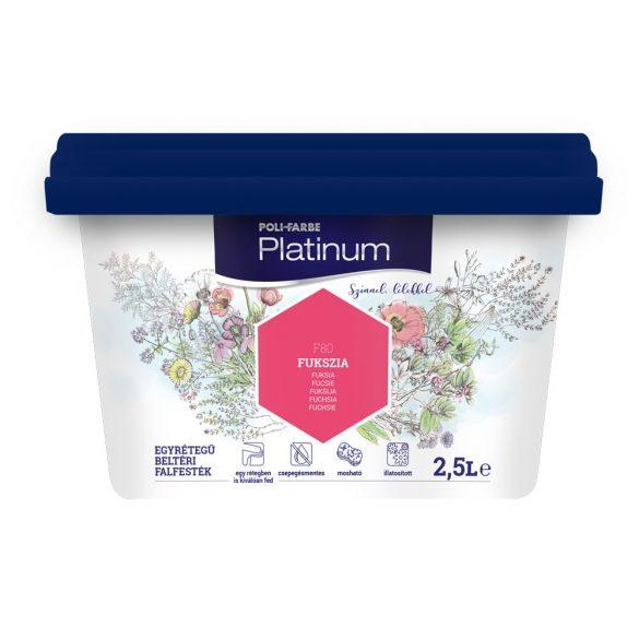 Poli-Farbe Platinum Fukszia 2,5L