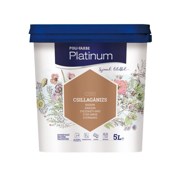 Poli-Farbe Platinum Csillagánizs 5L