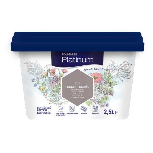Poli-Farbe Platinum Fekete Tulipán 2,5L