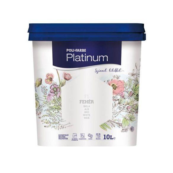 Poli-Farbe Platinum Fehér 10L